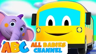 Wheels On The Bus Children Song 3D Nursery Rhymes For Kids By All Babies Channel