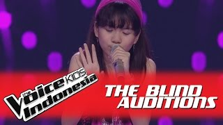 "Video Monica ""Karena Ku Sanggup"" I The Blind Auditions I The Voice Kids Indonesia GlobalTV 2016 MP3, 3GP, MP4, WEBM, AVI, FLV September 2018"