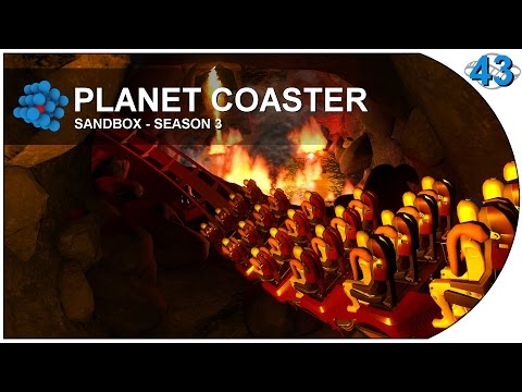 Planet Coaster - S03E43 - Magma pool (видео)