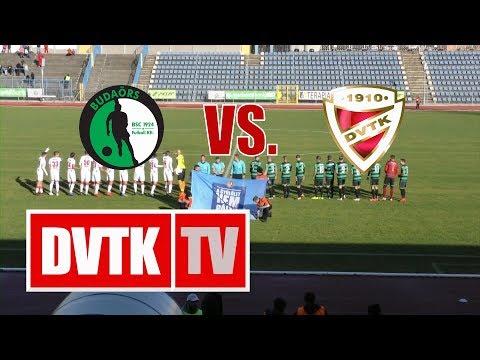 8. forduló: Budaörs - DVTK 5-3