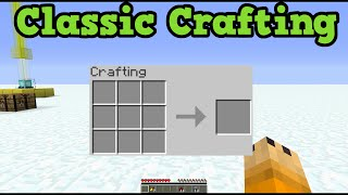 Minecraft Xbox 360 + PS3 TU25: CLASSIC CRAFTING vs Automatic