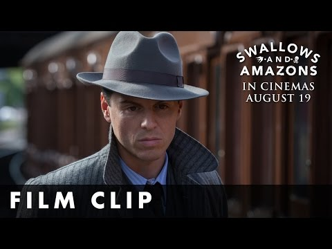 Swallows and Amazons (Clip 'Andrew Scott at the Station')