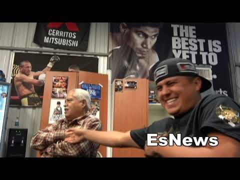 Robert Garcia Says Mikey Beats The Crap Out Of Crawford EsNews Boxing
