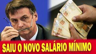 5. 🔴 Jair Bolsonaro Assina o Novo Salário Mínimo de 2019 e Valor IMPRESSIONA a todos