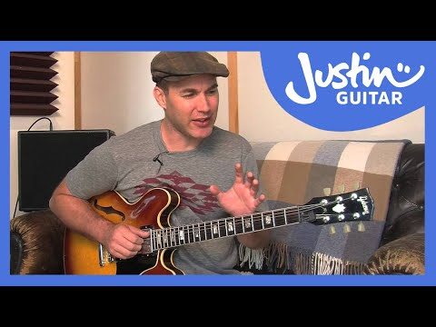 How To Use Chords Built In 4ths - Jazz Guitar Lesson [JA-033]