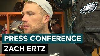 Zach Ertz on Teaming Up w/ Dallas Goedert | Eagles Press Conference