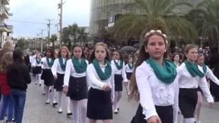 Ραφήνα 28 Οκτωβρίου 2016: Η μαθητική παρέλαση