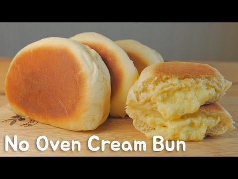 soffici panini dolci con crema