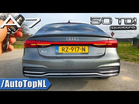 2019 AUDI A7 SPORTBACK 50 TDI Review POV Test Drive on AUTOBAHN & ROAD by AutoTopNL