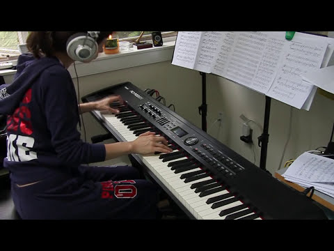 Portishead - Machine Gun - piano cover (vers.2) Video