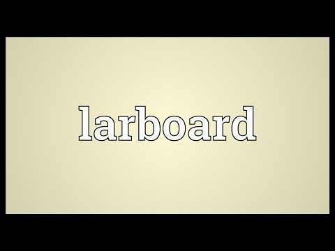 Larboard Meaning