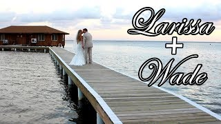 Destination Wedding Videography at the gorgeous CoCo View Resort in Roatan, Honduras. Beautiful outdoor, ocean front...