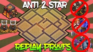 Video TH10 ANTI 2 STAR WAR BASE with REPLAY PROOFS | ANTI LAVALOON/GOLEM/VALK/P.E.K.K.A | Clash of Clans MP3, 3GP, MP4, WEBM, AVI, FLV September 2017