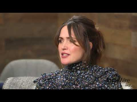 """Rose Byrne discusses her film """"Juliet, Naked"""" at IndieWire's Sundance Studio"""