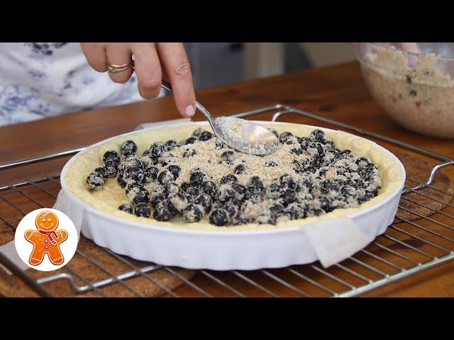 Необычный Пирог с Черной Смородиной