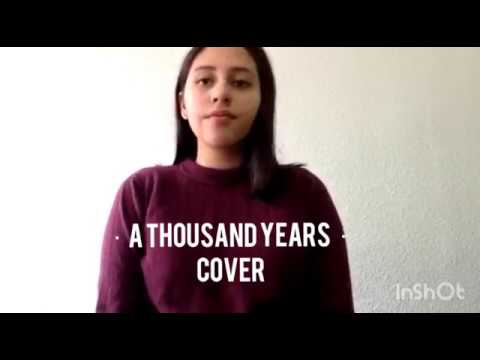Video A thousand years - Christina Perri Cover download in MP3, 3GP, MP4, WEBM, AVI, FLV January 2017