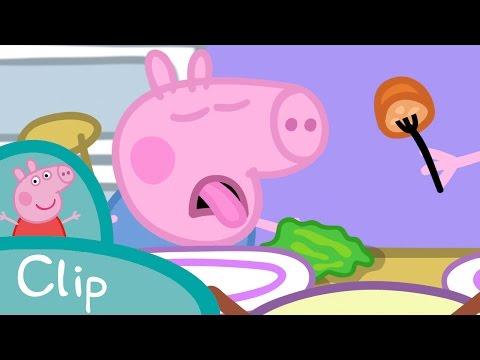 Peppa Pig Français | La salade de Dinosaure