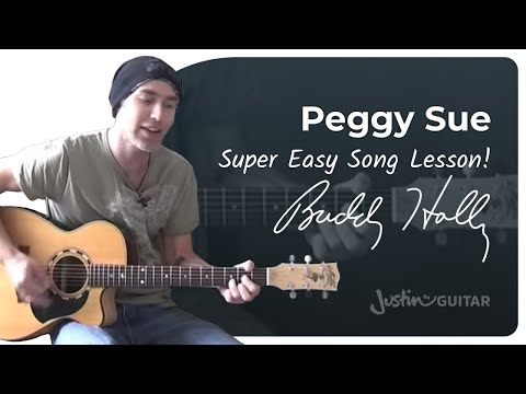 Peggy Sue – Buddy Holly (Songs Guitar Lesson BS-208) How to play