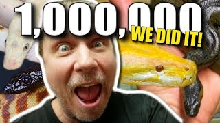 BACK WITH MY SNAKES!! **1 MILLION SUBS** **500th VLOG** Brian Barczyk by Brian Barczyk