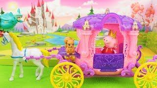 Peppa Pig português - A Princesa Peppa Pig no Conto de Fadas! Em Portugues 2019
