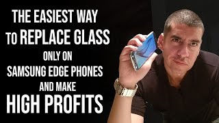 Video The Best Way to Replace Glass Only on S8 S8+ and S7 Edge Samsung Galaxy Cracked Screen Repair MP3, 3GP, MP4, WEBM, AVI, FLV September 2019
