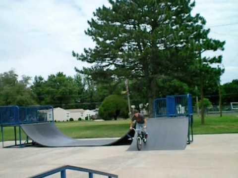 Mulvane Kansas BMX skatepark