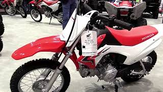 9. 2018 Honda CRF110F Complete Accs Series Lookaround Le Moto Around The World