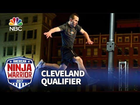 Joe Moravsky at the Cleveland Qualifiers - American Ninja Warrior 2017