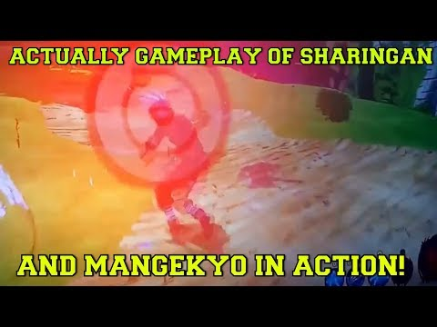 Naruto To Boruto Shinobi Striker KAKASHI USING THE SHARINGAN AND MANGEKYO SHARINGAN NEW GAMEPLAY!