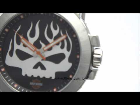Relógio Bulova Harley Davidson WB31318T