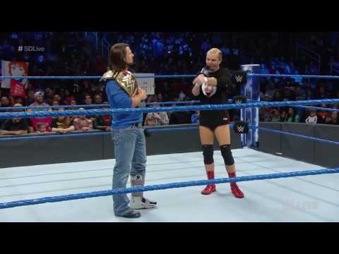 Dean Ambrose Attacks James Ellsworth With Dirty Deeds SmackDown LIVE 12/6/2016