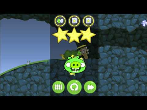 Let's Play Bad PIggies Part 15 - IT WASN'T REALLY THE END!!!