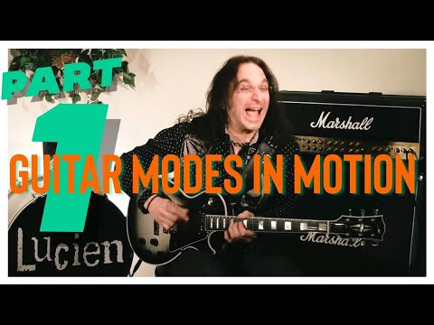 """""""MODES IN MOTION"""" INTRODUCTION Guitar Mode & Scale Lesson  LEARN NOW (OFFICIAL VIDEO)"""