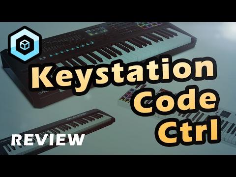 M-Audio Midi Controller Test - Keystation 61 vs Code 49 vs CTRL49