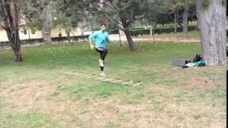 Skipping con una pierna