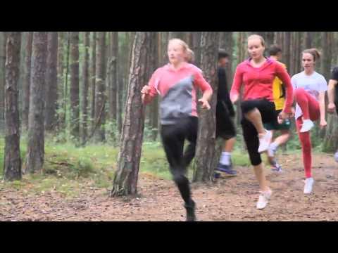 Danske Bank bėgimo akademija. Treniruotė Klaipėdoje