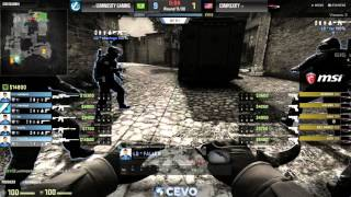 compLexity vs Luminosity Game 2 (CEVO-P CS:GO Season 8) - Vansilli & Dust