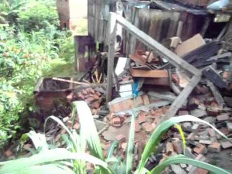 20121122 - Chuvas voltam a causar estragos em Itagimirim