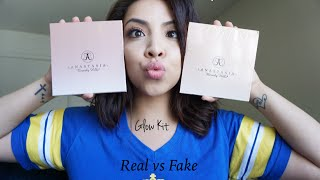 REAL vs FAKE $10: Anastasia Beverly Hills-GLOW KIT