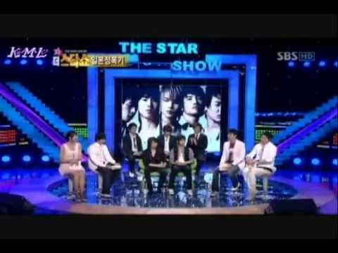 [Vietsub] DBSK The Star Show 1/6
