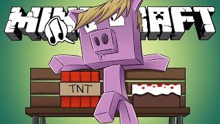 Minecraft - HIDE AND SEEK - Just a Cute Little Piggy!
