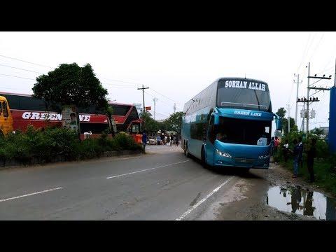 Green Line Double Decker Man Multi-Axle Bus Live in BD part-Final