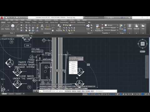 AutoCAD Inserting And Scaling PDF