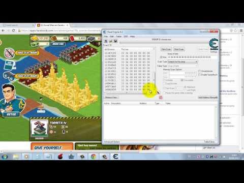 hack social wars poblacion infinita con cheat engine 6.2 o cualquier