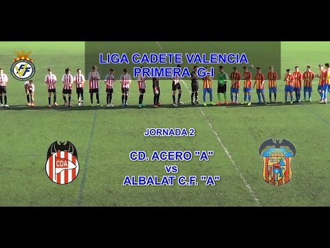 2016-17_J2_Primera Cadete Valencia G-1_Acero A (2-1) Albalat