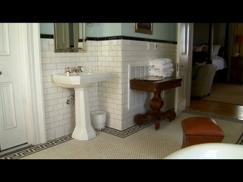 Installing Stunning Bathroom Tile   P. Allen Smith Classics