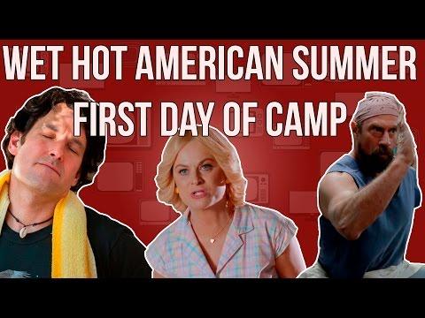 Wet Hot American Summer Netflix Original Review