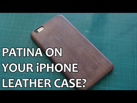 Patina on iPhone Leather Case!?