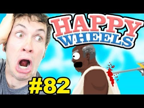 Happy Wheels - IMPOSSIBLE HARPOON RUN