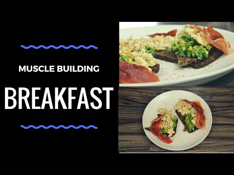 Muscle Building Breakfast within 5 Minutes